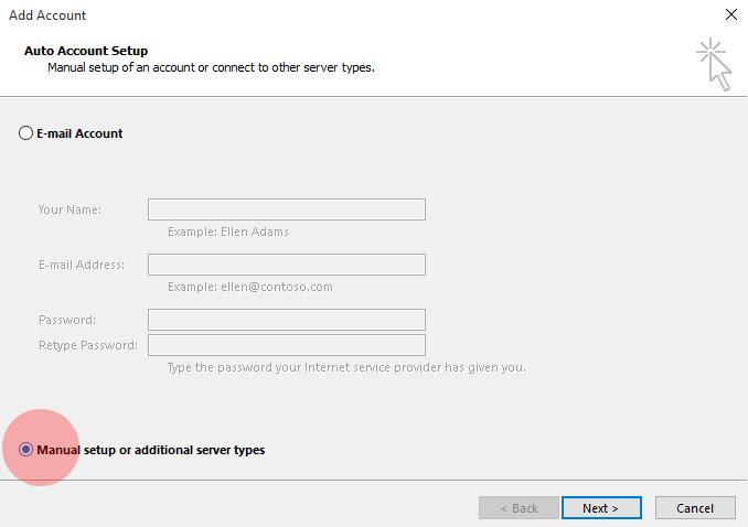kako-instalirati-novu-email-adresu-u-outlook-2-korak